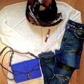 Mels Kleidungskombination