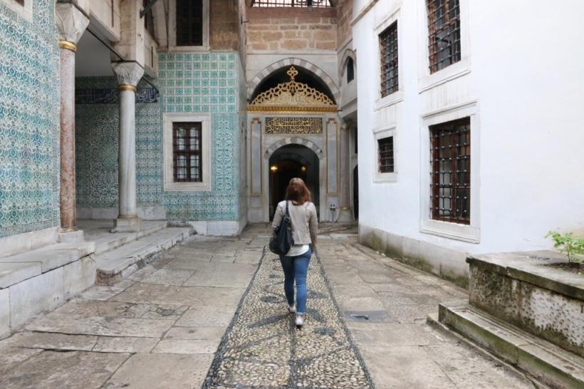 Harem im Topkapi Palast Istanbul