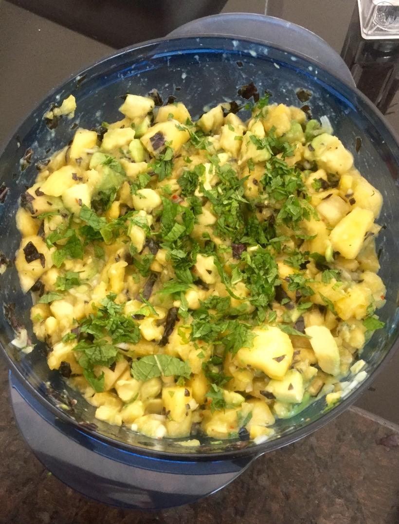 Avocado Ananas Salsa