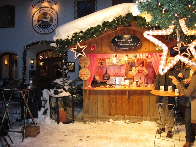 Wolfgangseer Advent Hütte