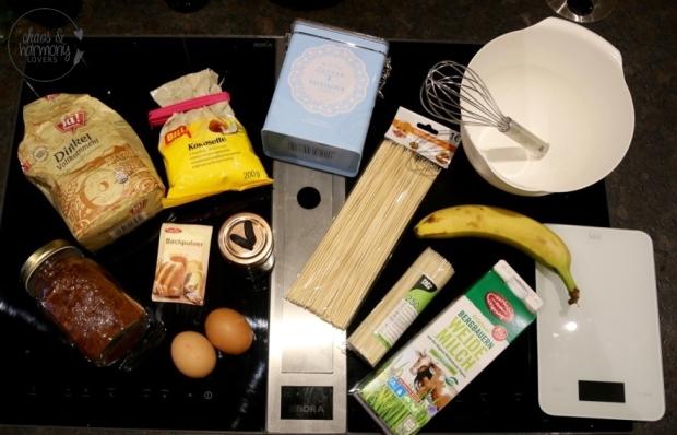 Zutaten Pancake Spieße
