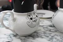 Teekanne beim Afternoon Tea