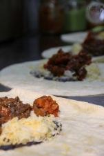 Burrito mit Fleisch