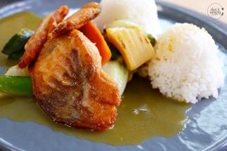 Lachs mit Mango-Limetten Soße