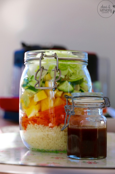 Salat zum Shaken