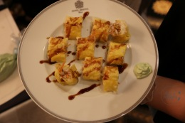 Lisa's fertiges Sushi