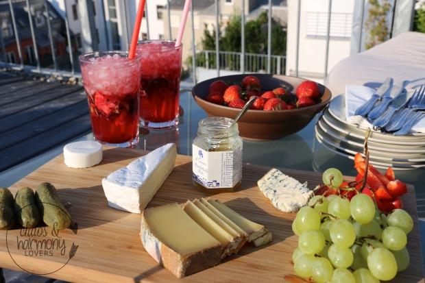 Brombeer-Basilikum-Mojito Snack