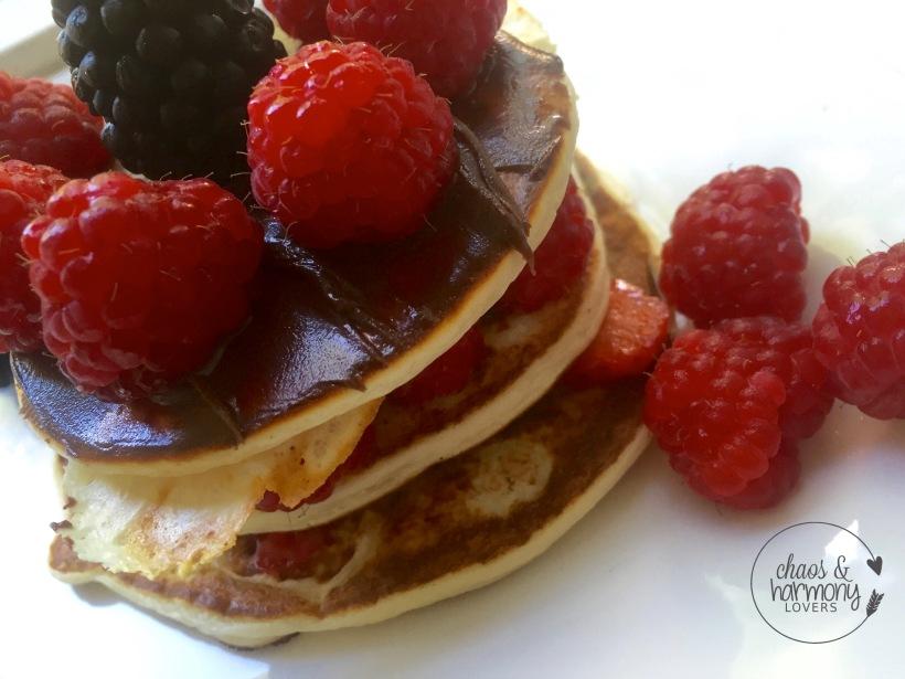 Gymqueen Pancakes mit Queenella