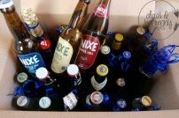 3 unterschiedliche Nixe Biersorten