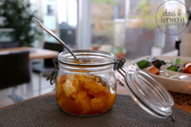 herbstliches Apfel-Orangen-Kompott